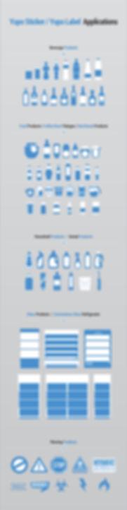Yupo Sticker Applications by Aladdin Pri