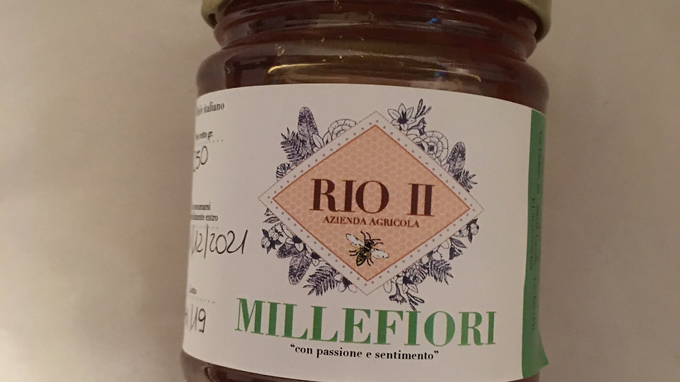 Miele Millefiori da 250 gr