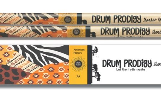 Drum Prodigy Safari Themed Drum sticks