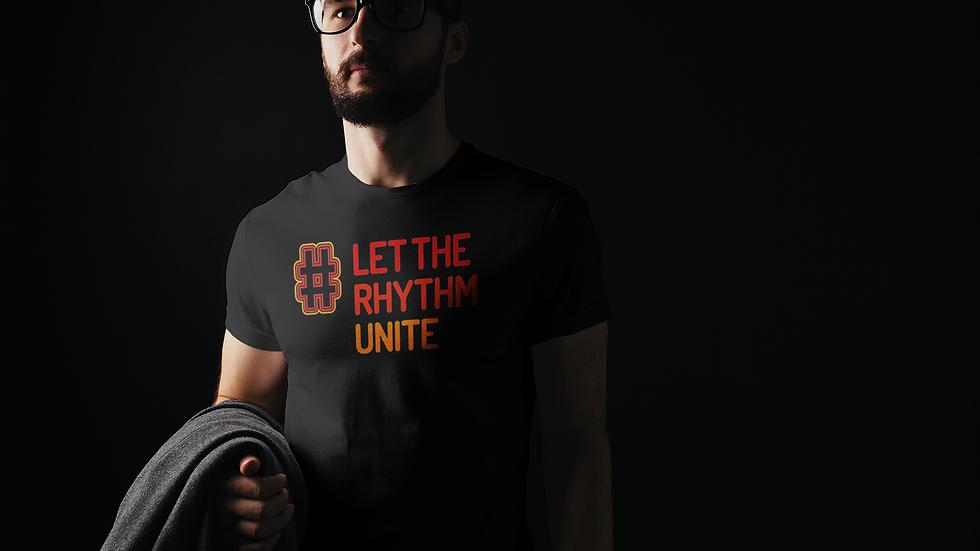 Let the Rhythm Unite Black tee
