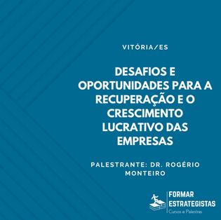 """Acesse Webinar """"Desafios e oportunidades para a recuperação e o crescimento lucrativo das empresas"""""""