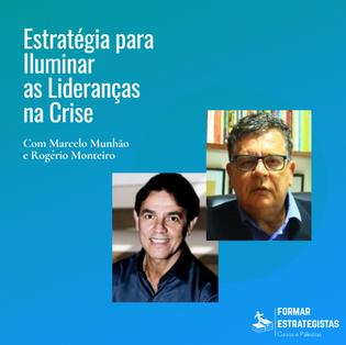 """Live """"Estratégia para iluminar as lideranças na crise"""""""