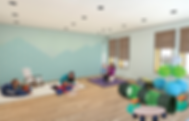 A Movement Room Render + Line Work - 1 -