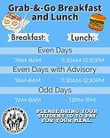 Waiakea High Grab & Go Breakfast and Lunch