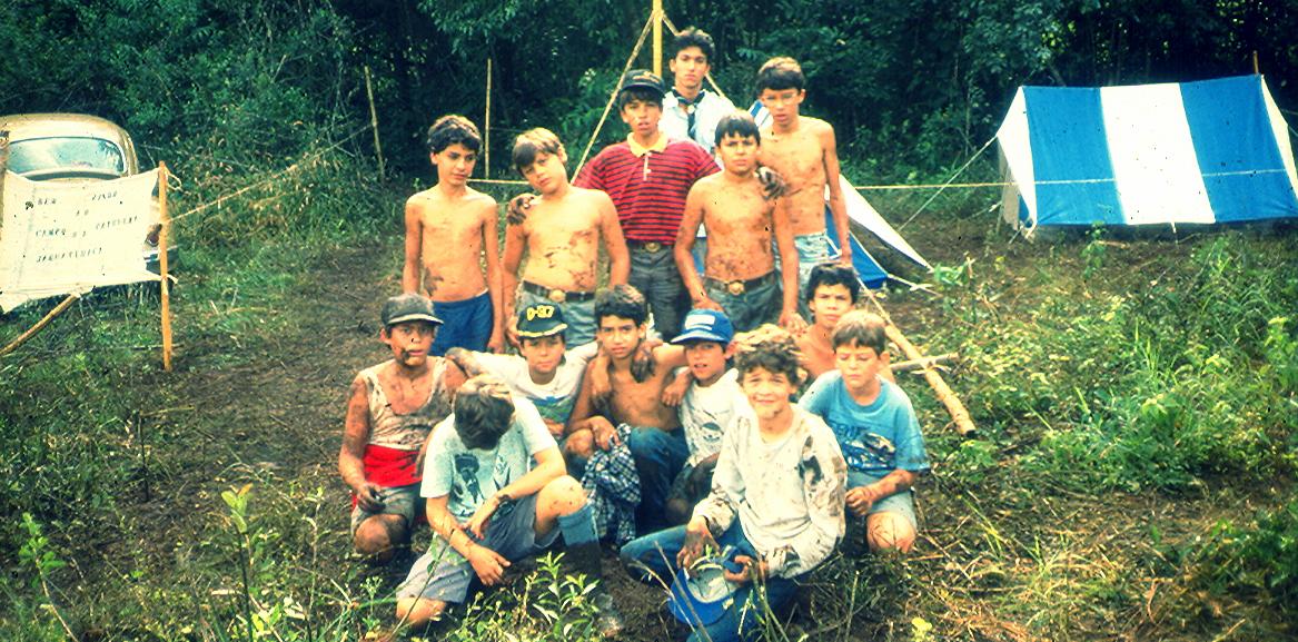 1º Acampamento - Maio de 1988