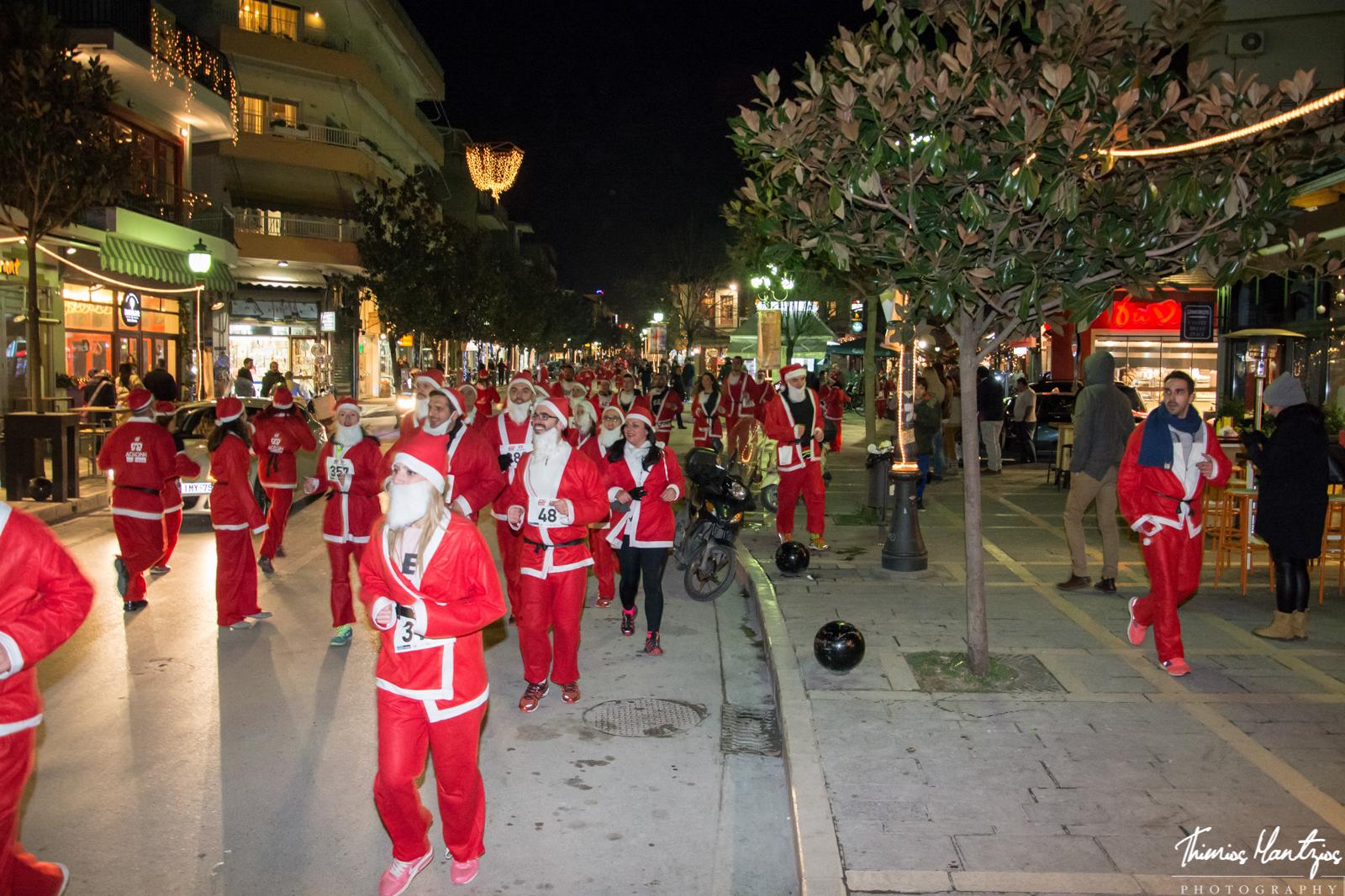 Santa run Ioannina 2014