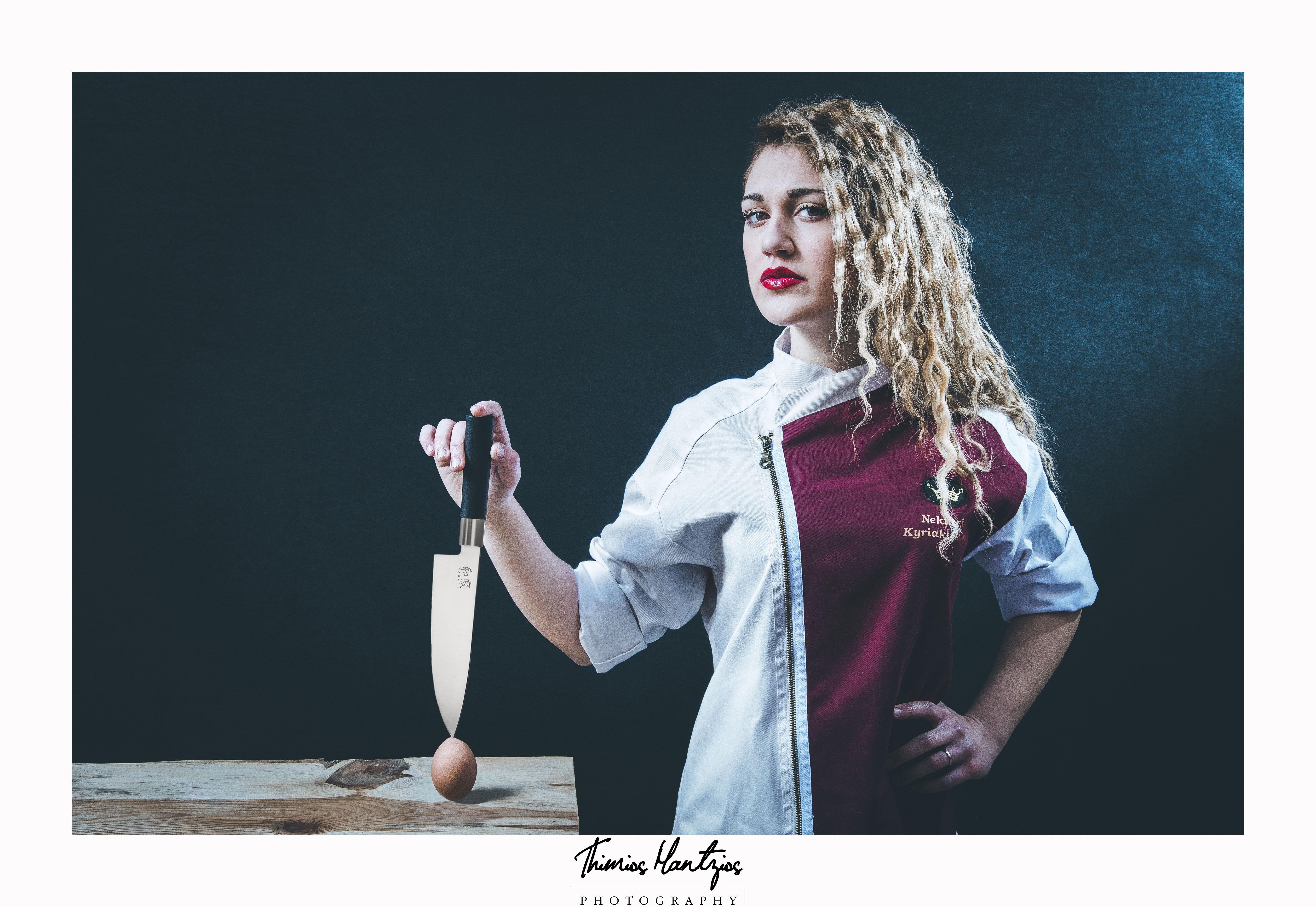 Pastry cook Nektaria Kyriakopoulou