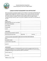 MACS program application form