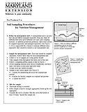 PDF: Soil Sampling Procedures. Downloadable resource from MSCD