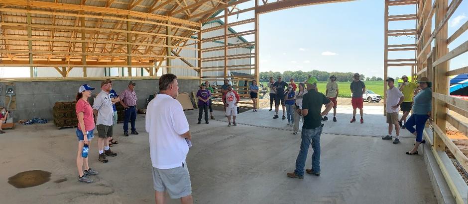 Montgomery County S.T.E.M. Teachers Tour Montgomery County Farms