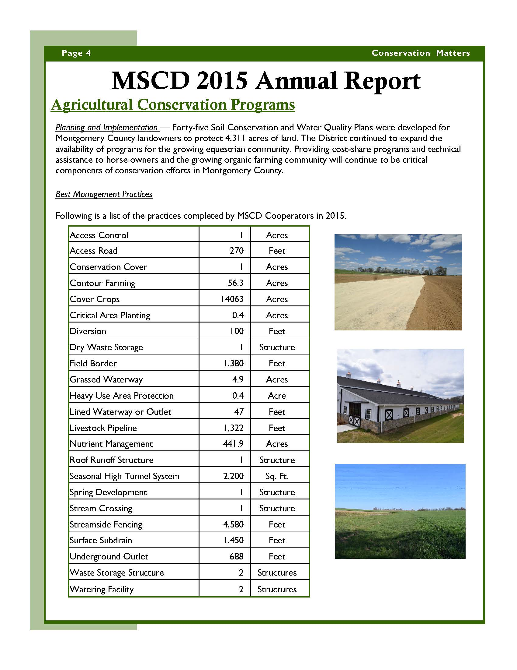 MSCD 2015 Annual Report page 4