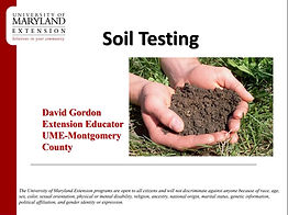 PDF: Soil Testing. Downloadable resource from MSCD.