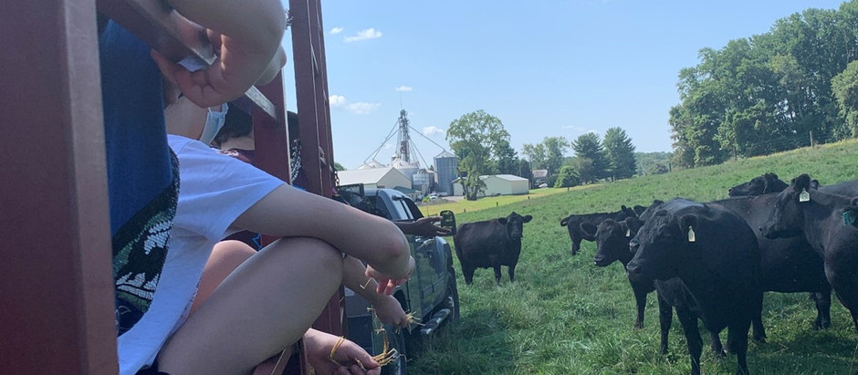Montgomery County Magnet School Students Tour Montgomery County Farms