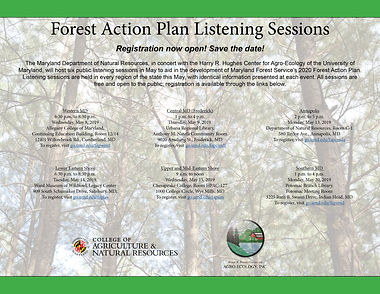 Maryland Forest Action Plan Listening Sessions