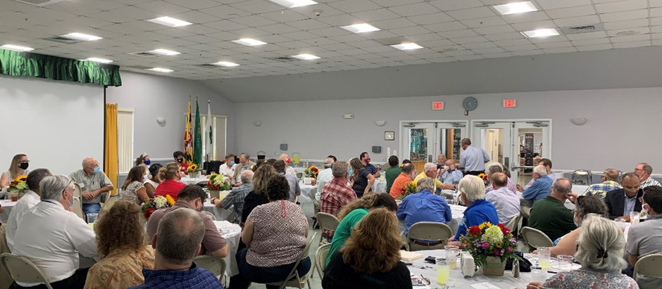 County Ag Leaders Gather at Fair to Celebrate County Agriculture