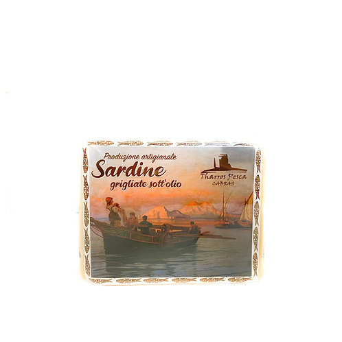 Sardina grigliata sott'olio
