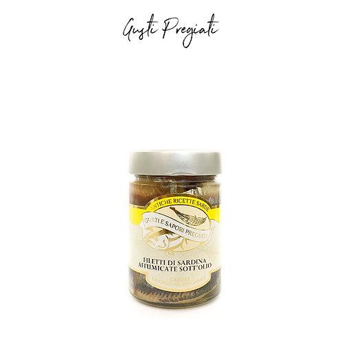 Filetti di Sardine affumicate sott'olio