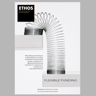 Flexible funding: Ethos Mezzanine Partners Advert