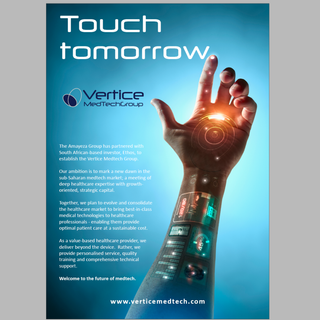 Touch tomorrow: Vertice