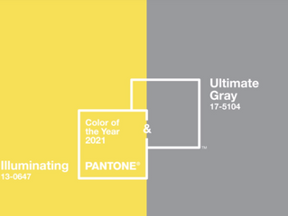 Pantone Colors of the Year: Ultimate Gray and Illuminating