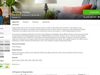 Staging Dallas is 'Best of Houzz' for the 8th Year in a Row!