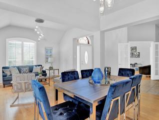 Open Concept Home Staging Opens Doors