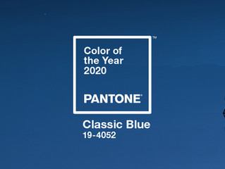 PANTONE's Color of the Year 2020: Classic Blue