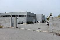 Entrada da fabrica Albano Pereira