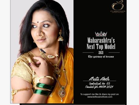 Arati Aher Finalist for Maharashtra's Next Top Model 2021