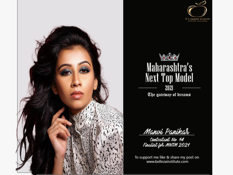 Manavi Panikar Finalist for Maharashtra's Next Top Model 2021