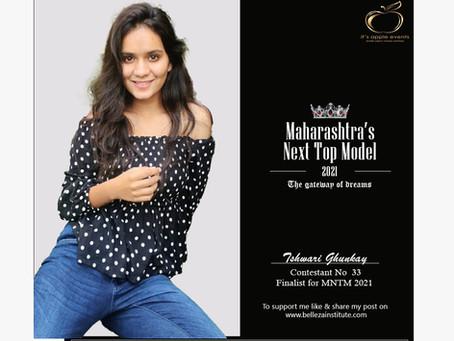 Ishwari Ghunkay Finalist for Maharashtra's Next Top Model 2021