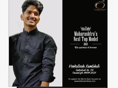 Venkatesh Kumbhar Finalist for Maharashtra's Next Top Model 2021