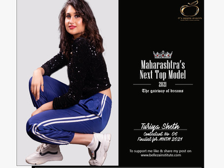 Turiya Sheth Finalist for Maharashtra's Next Top Model 2021