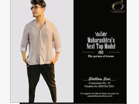 Shubham Soni Finalist for Maharashtra's Next Top Model 2021