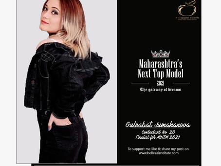 Gulnabat Jumahanova Finalist for Maharashtra's Next Top Model 2021