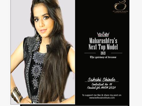 Sakshi Shinde Finalist for Maharashtra's Next Top Model 2021