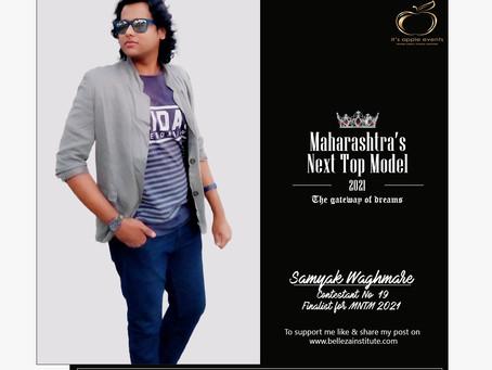 Samyak Waghmare Finalist for Maharashtra's Next Top Model 2021