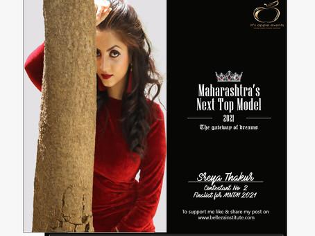 Shreya Thakur Finalist for Maharashtra's Next Top Model 2021