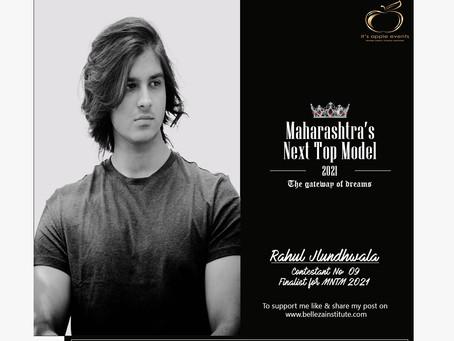 Rahul Jalundhwala Finalist for Maharashtra's Next Top Model 2021