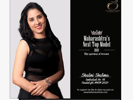 Shalini Sharma Finalist for Maharashtra's Next Top Model 2021
