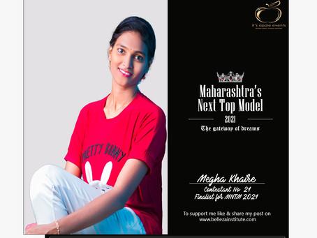 Megha Khaire Finalist for Maharashtra's Next Top Model 2021