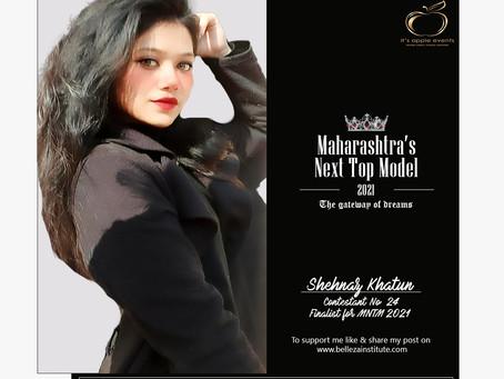 Shehnaz Khatun Finalist for Maharashtra's Next Top Model 2021