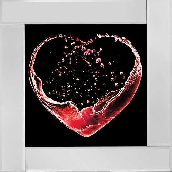 Heart of Wine in Red