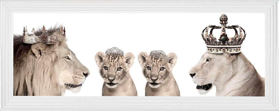 The Royal Family with Princess Cubs