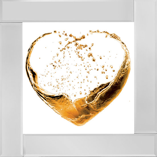 Heart of Wine in Gold
