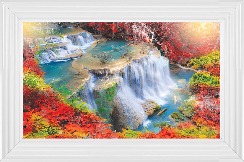 Colourful Waterfall