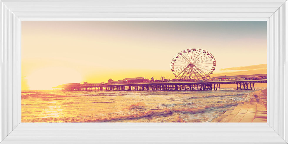Blackpool Pier at Sunset