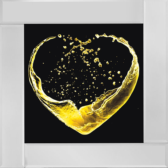 Heart of Wine in Yellow
