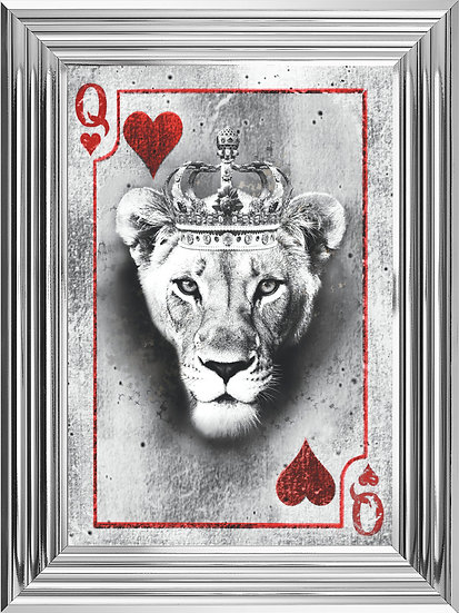 Queen of Hearts Playing Card (Red)