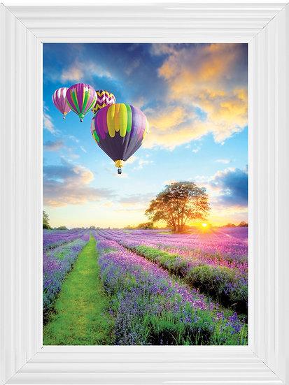 Lavender Hot Air Balloon